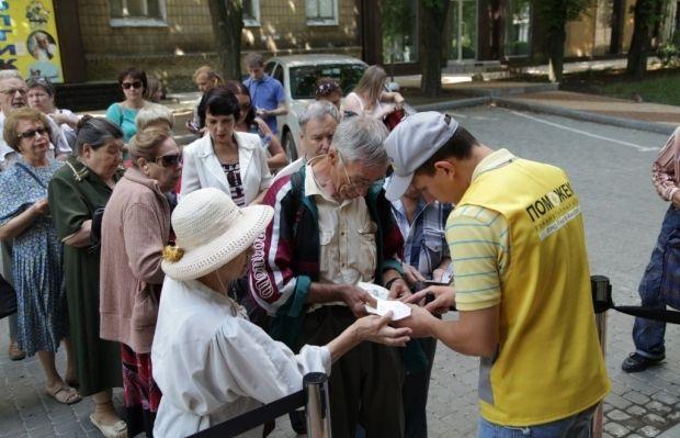 66 930 мирных жителей Донецкой области получили продуктовые наборы от Штаба / Фото: Пресс-служба Гуманитарного штаба Рината Ахметова