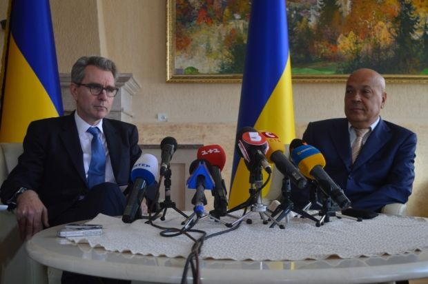 Посол США в Украине Джеффри Пайетт посетил Закарпатье