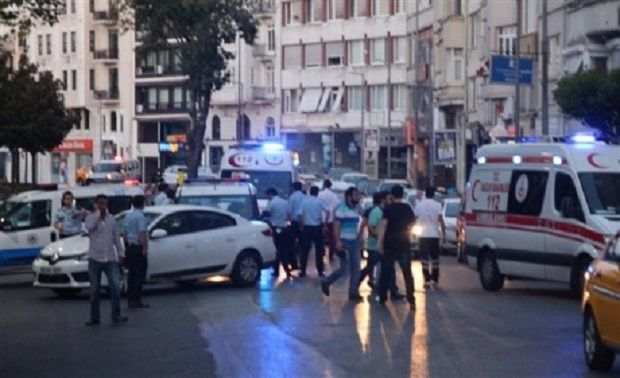 A new shooting incident in Istanbul / DHA photo