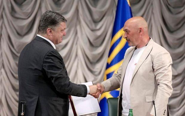 Георгия Туку уволили с должности главы Луганской ВГА / УНИАН / twitter.com/poroshenko