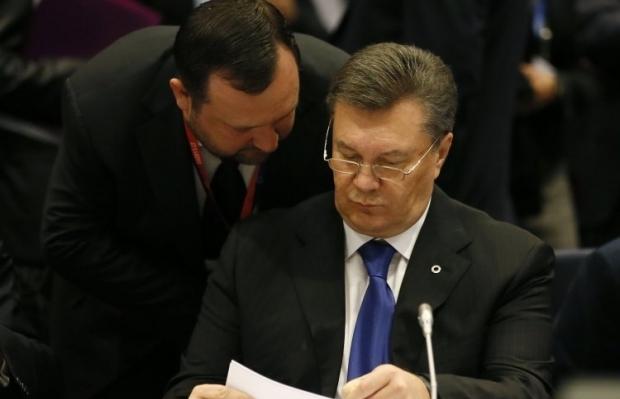 На фото - Сергей Арбузов и Виктор Янукович / Фото УНИАН