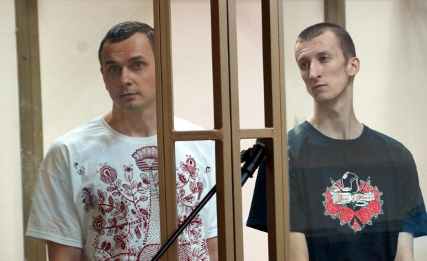Sentsov told the court that he took part in the Maidan protests / twitter.com/antony_mon
