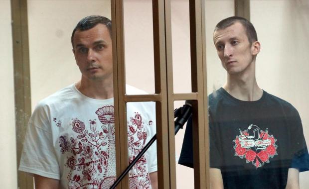 Сенцов и Кольченко / twitter.com/antony_mon