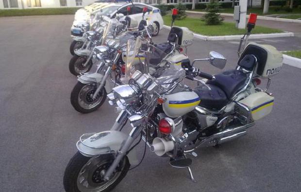Мотоциклы новой полиции / twitter.com/Alexey_Savkin