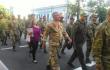 Марш добровольчих батальйонів у центрі Києва <br> twitter.com/HromadskeTV, twitter.com/olarhat