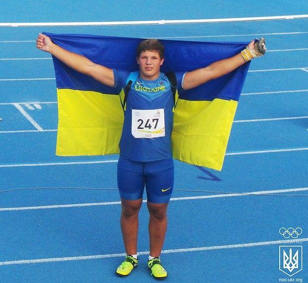 Михайл Гаврилюк здобув третю золоту нагороду збірної України / noc-ukr.org