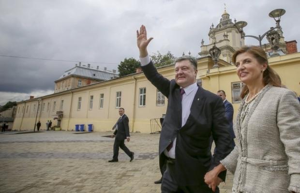 На фото - Петр Порошенко и Марина Порошенко / Фото УНИАН