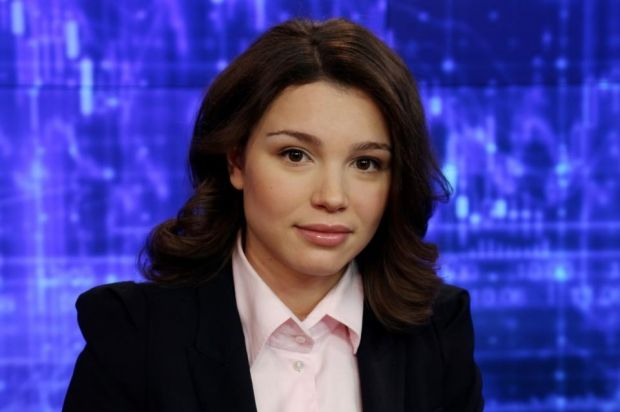 The Lech Walesa Solidarity Prize in 2015 was awarded to Zhanna Nemtsova, the daughter of Russian opposition leader Boris Nemtsov / Photo from tsn.ua