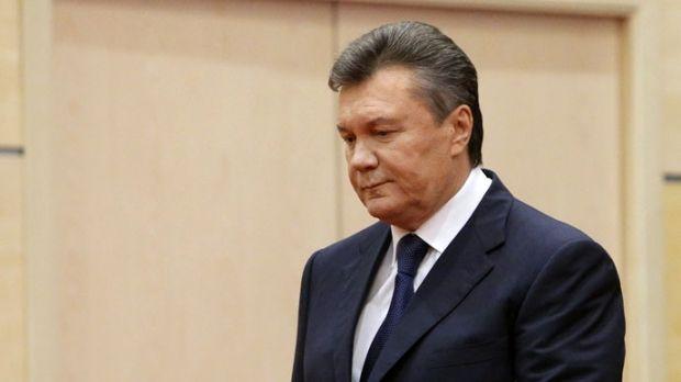 Экс-президент Украины Виктор Янукович  / REUTERS