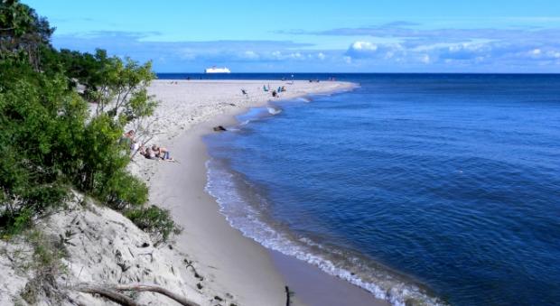 Пляж в Польше / pl.wikipedia.org