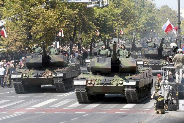 Польша готовится к реальной войне