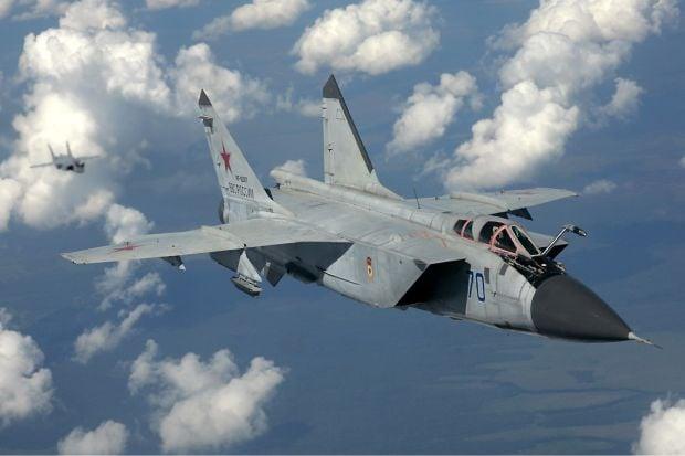 МіГ-31 помітили у Сирії / airliners.net