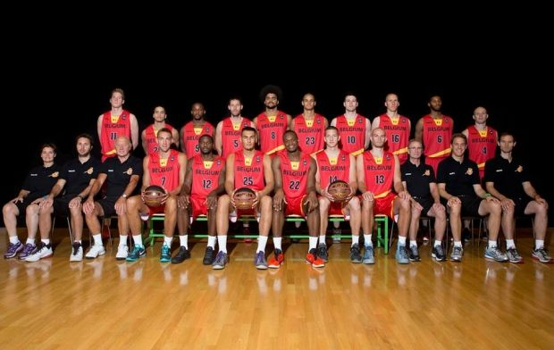 Бельгийцы определились с составом на Евробаскет / basketbelgium.be