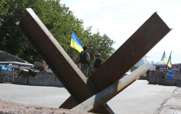 Transport corridors near Maiorske and Zaitseve will be closed due to heavy shelling / Photo from dpsu.gov.ua