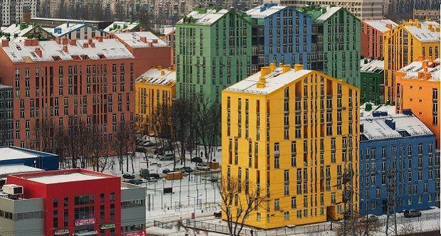 Киевский жилой комплекс Комфорт-Таун / www.youtube.com