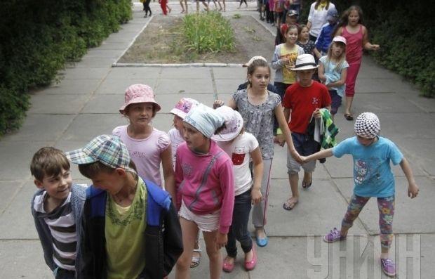 Отдельное внимание было уделено детям киевлян - участников АТО, а также детям из числа переселенцев / Фото: УНИАН