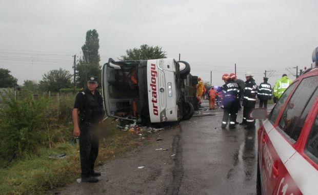 A new bus crash has occured in Romania / Photo from viata-libera.ro