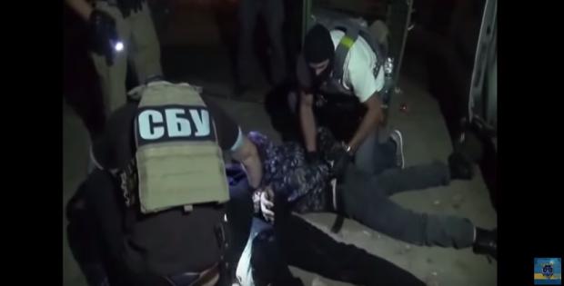 Силовики задержали преступников / Скриншот видео