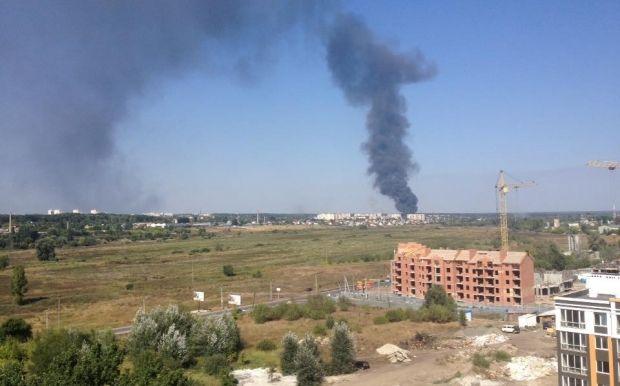 Пожар в Буче / facebook.com/anastasia.milo.5