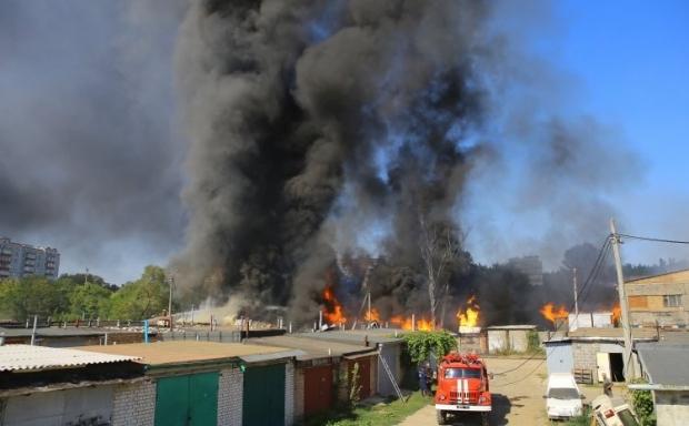 Спасатели подчеркнули, что ситуация под контролем / Фото УНИАН