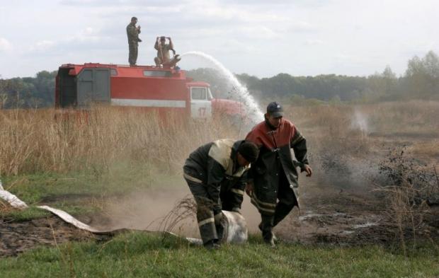 Синоптики предупредили о чрезвычайной пожарной опасности до 2 октября почти во всех областях