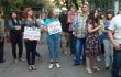 Харків'яни пікетують генконсульство РФ на підтримку Сенцова та Кольченка <br> @Hromadske_kh