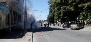 Столкновения у офиса Оппоблока в Харькове