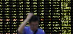 Обвал на мировых биржах