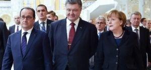 Встреча президентов в «нормандском формате» в Париже