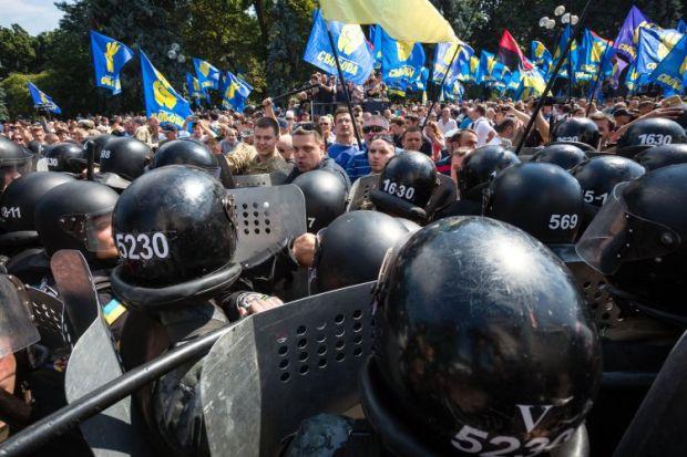 Svoboda party leader Tyahnybok not subpoenaed yet, but he will be / Photo from UNIAN