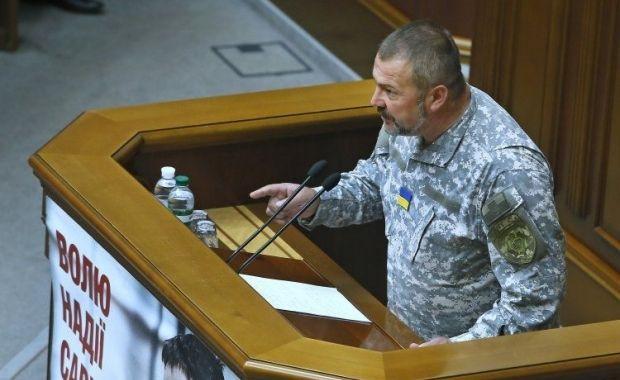 Береза нагадав натівському генералу про Судети та мовчання Європи / Фото УНІАН