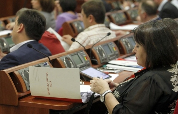 Депутаты поддержали переименование улицы Панфиловцев / Фото УНИАН