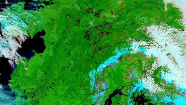 Аляска / NASA