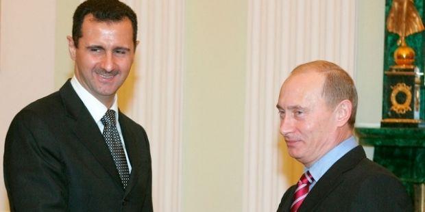 В Кремле сообщили о вчерашней встрече Асада с Путиным в Москве