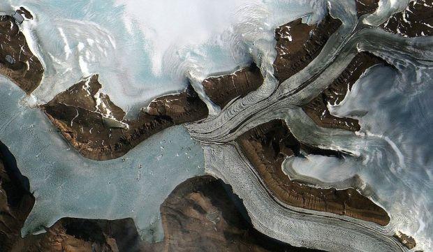 Ледник в Гренландии / ESA