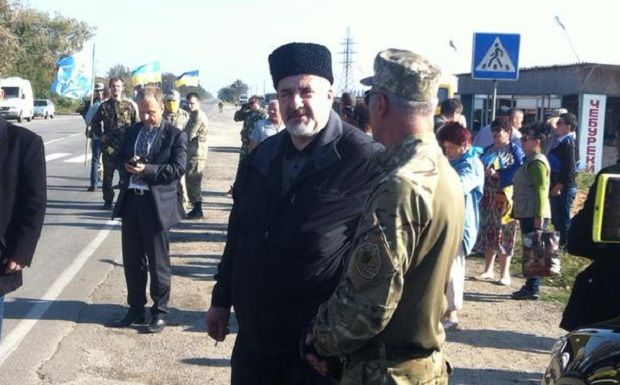 Chubarov said that all actions are coordinated with the Interior Ministry and SBU staff \ Krym. Realii