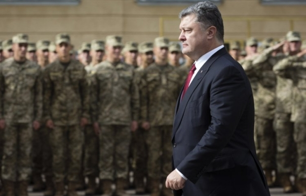 Poroshenko said that Russia must withdraw its troops from Donbas / Photo from UNIAN