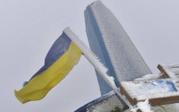 В Карпатах выпал первый снег!
