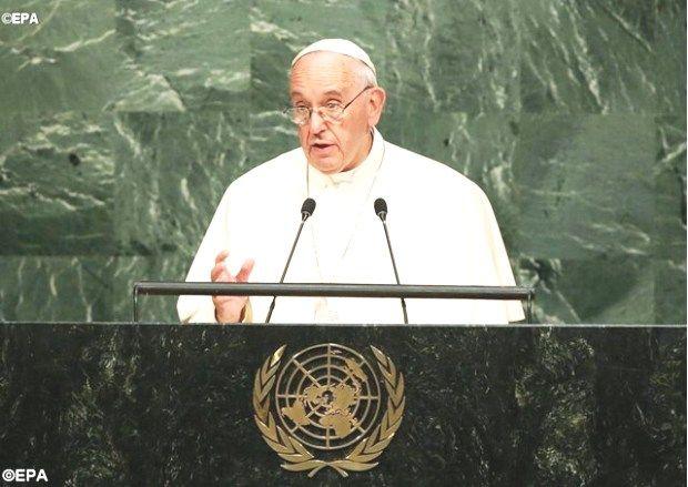 Папа Франциска в ООН: Не будьте организацией наций, объединенных страхом и недоверием