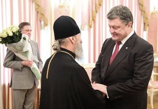 Предстоятель УПЦ поздравил Президента Украины с 50-летним юбилеем