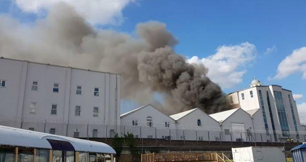 В Лондоне горит одна из крупнейших мечетей Западной Европы