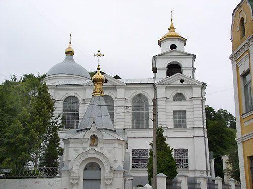 Крестовоздвиженский храм в Киеве