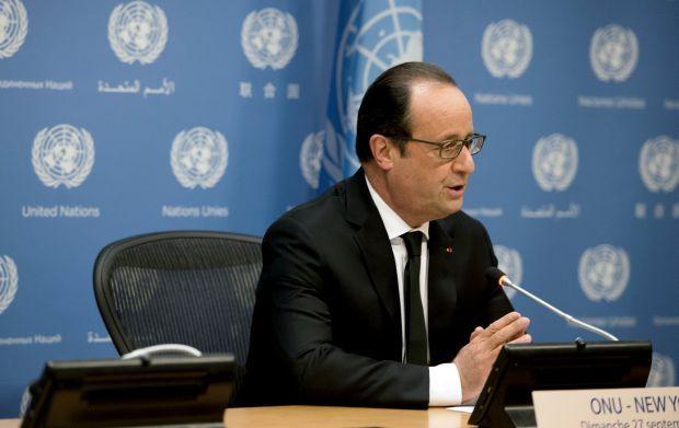 Олланд: Франция готова обсуждать борьбу с ИГ со всеми странами, в том числе с США, РФ и Ираном