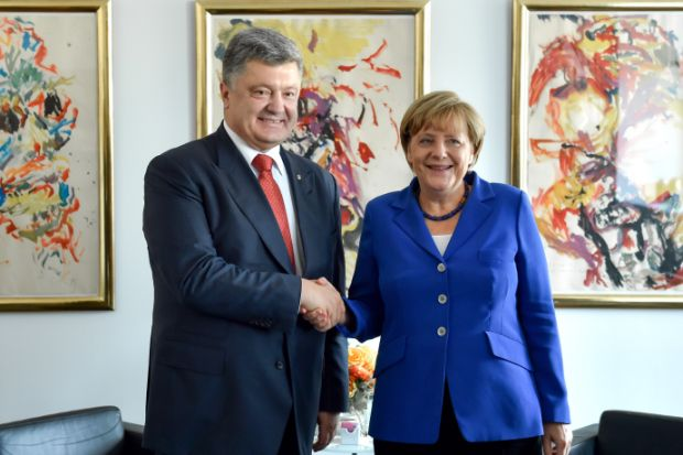 The two leaders discussed preparations to the talks in Normandy format / president.gov.ua