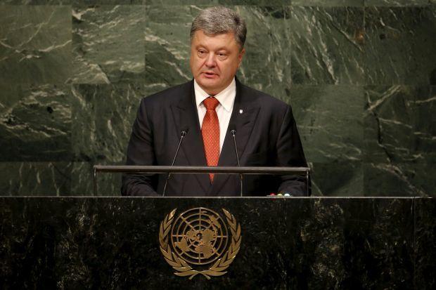 СМИ: делегация РФ покинула зал ГА ООН во время выступления Порошенко