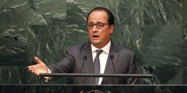 Олланд выступает за расширение Совета безопасности ООН и ограничение права вето