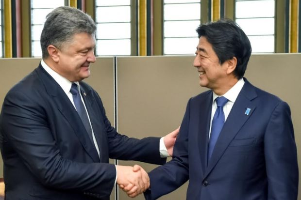 Japan PM says Tokio will not recognize pseudo-elections in occupied Donbas / president.gov.ua