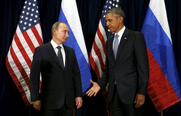 Обама и Путин договорились о переговорах представителей оборонных ведомств по Сирии