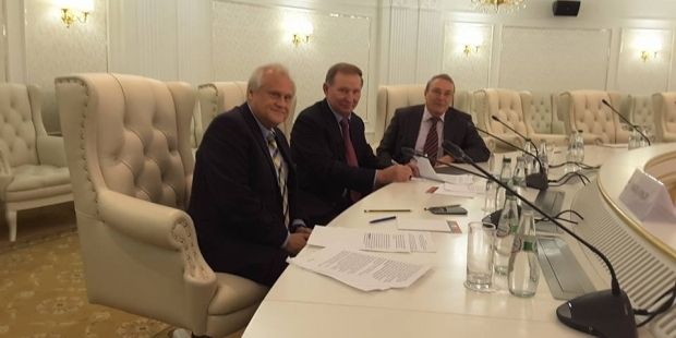 The Trilateral Contact Group in Minsk / Photo from  Dariia Olifer