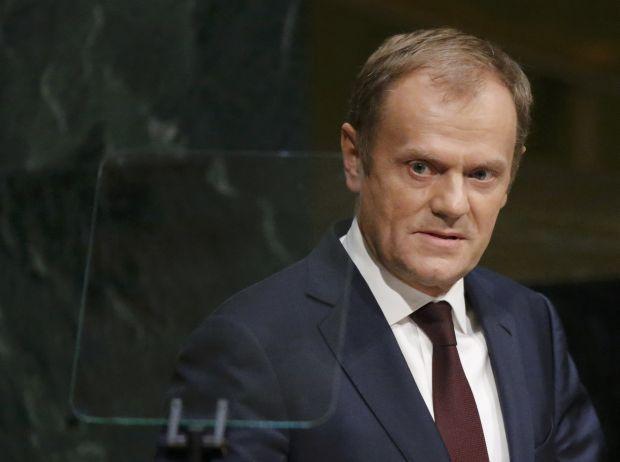 Глава Европейского совета напомнил, что аннексия Крыма является нарушением Устава ООН